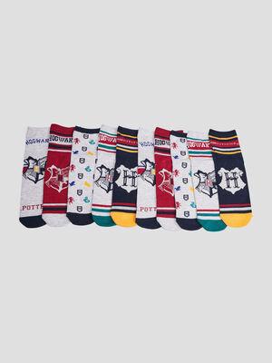 Lot 5 chaussettes Harry Potter multicolore garcon