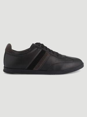 Sneakers a lacets Liberto noir homme