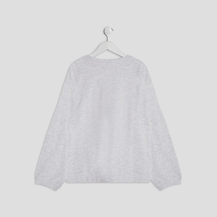 Pyjama fille ecru