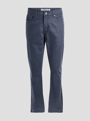 Jeans straight stretch Creeks bleu homme