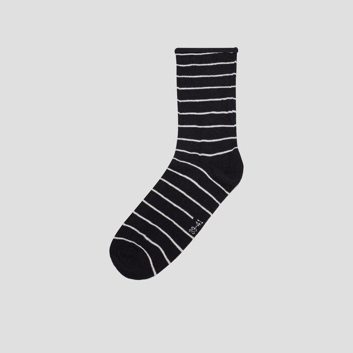 Lot de 5 paires de chaussettes femme multicolore