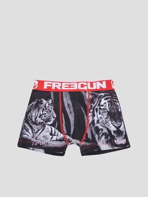 Boxer Freegun rouge garcon