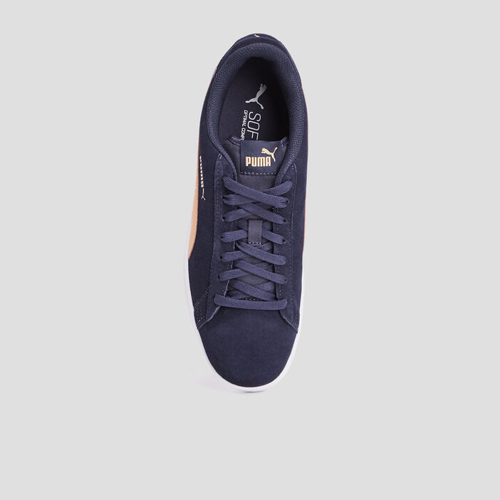 Tennis Puma en cuir homme noir