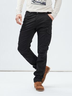 Pantalon regular Liberto noir homme