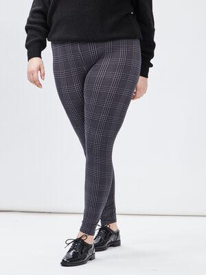 Pantalon legging grande taille gris fonce femmegt