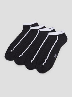 Chaussettes noir homme