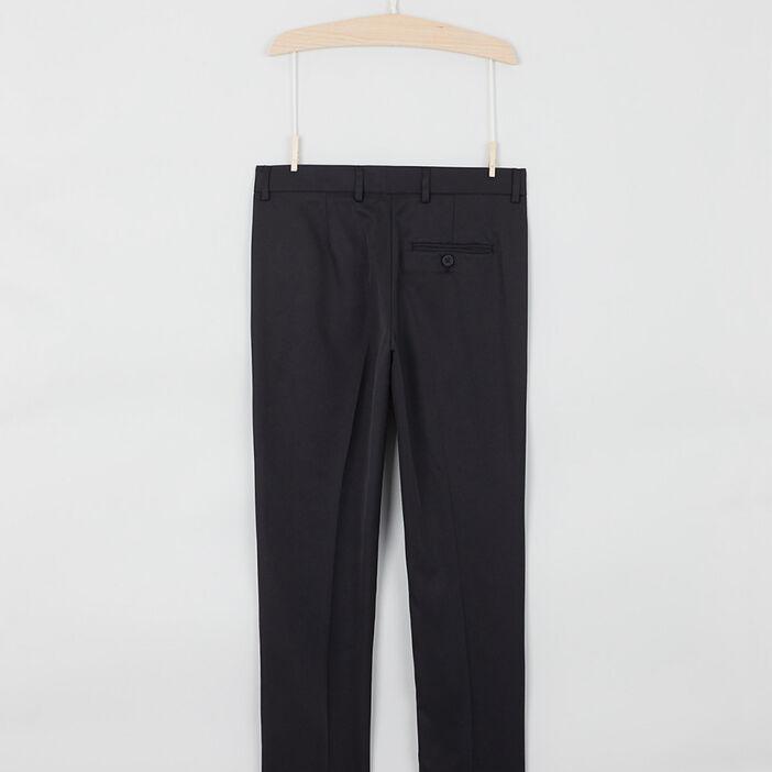 Pantalon droit cérémonie garçon noir