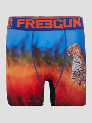 Boxer Freegun rouge homme