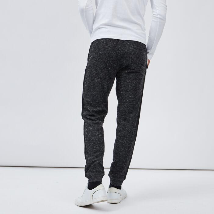 Pantalon de jogging droit homme gris foncé