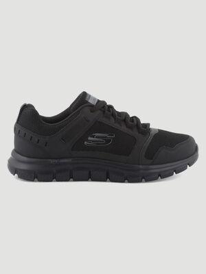 Runnings Skechers TRACK KNOCKHILL noir homme