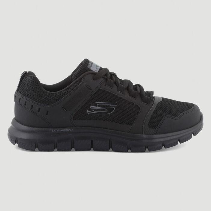 Runnings Skechers TRACK KNOCKHILL homme noir