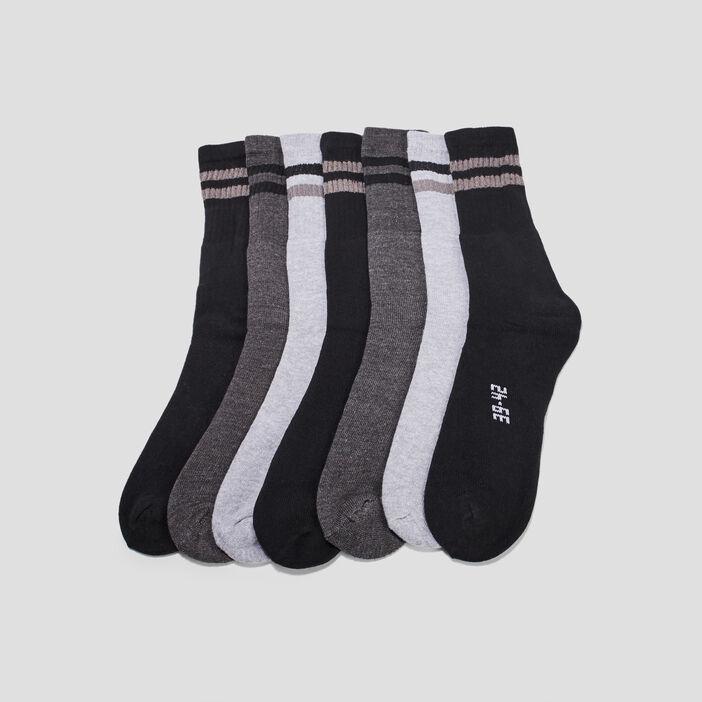Chaussettes de sport homme gris