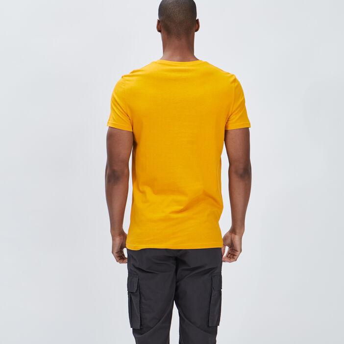 T-shirt manches courtes Creeks homme jaune moutarde