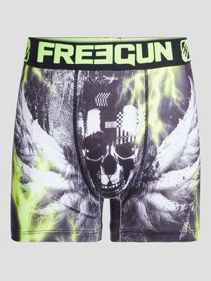 Boxer Freegun noir homme