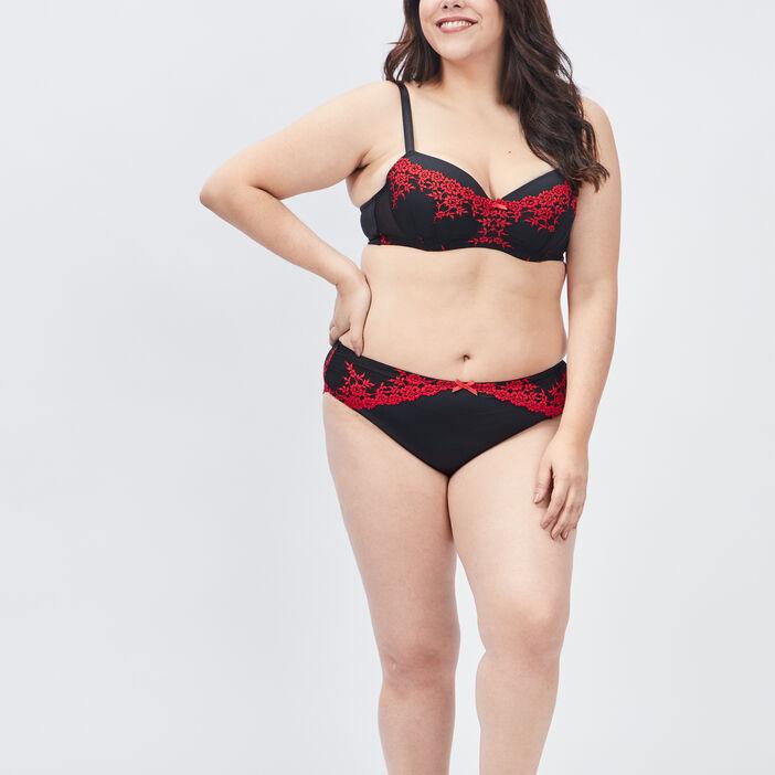 Culotte grande taille femme grande taille rouge