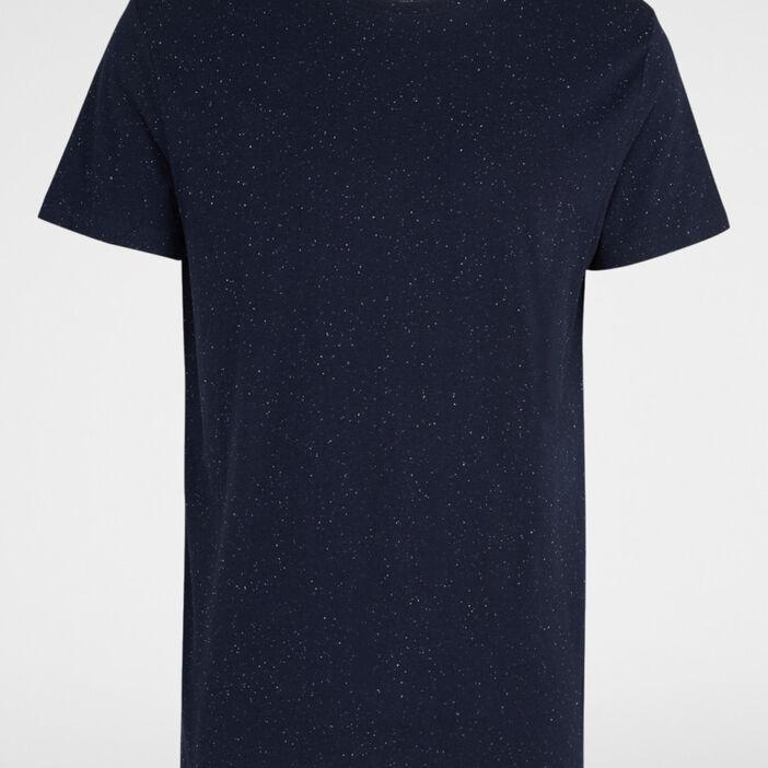 T-shirt manches courtes homme bleu marine