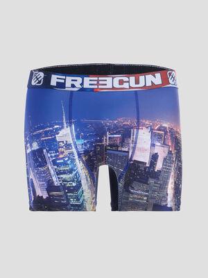 Boxer Freegun bleu roi homme
