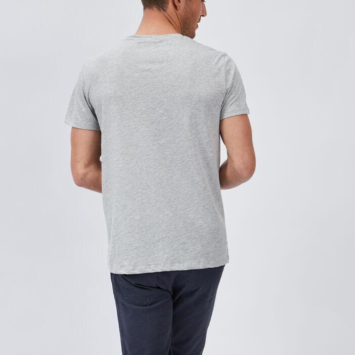 T-shirt manches courtes Creeks homme gris
