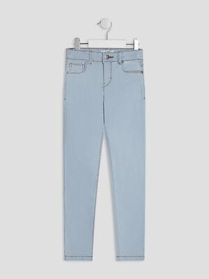 Jeans skinny denim bleach fille