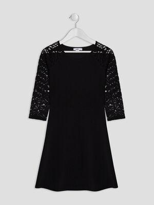 Robe noir fille
