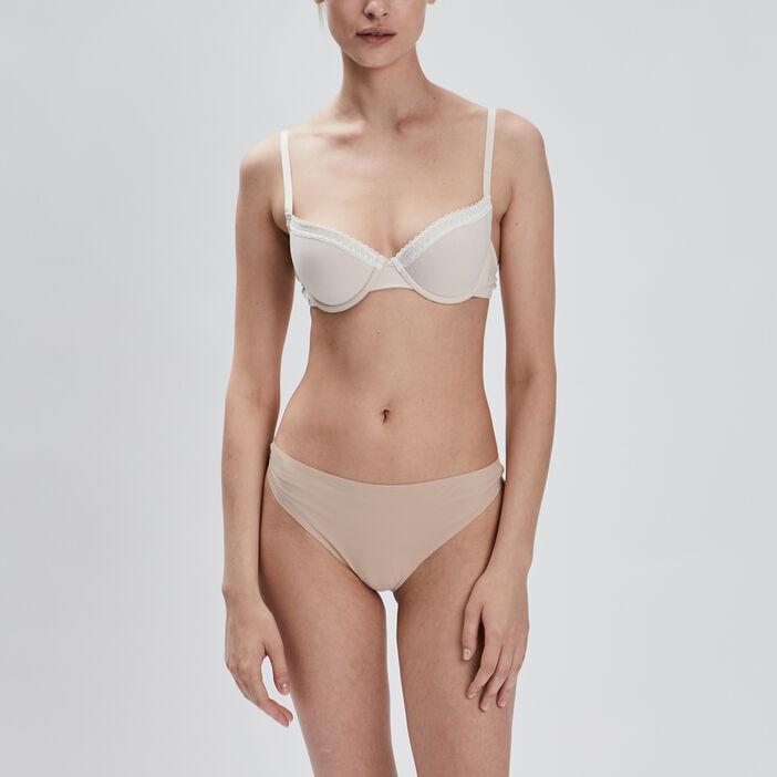 String femme beige