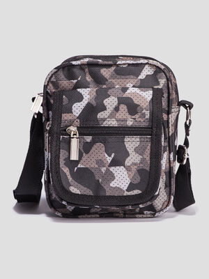 Sac besace bandouliere multicolore homme