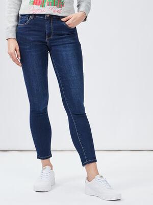 Jeans slim 78eme Creeks denim brut femme