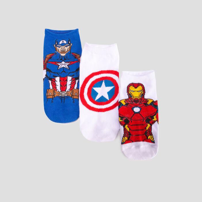 Lot 3 chaussettes Avengers  multicolore