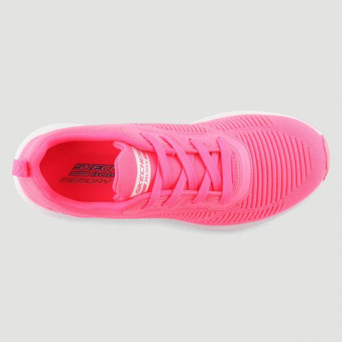 Runnings Skechers BOBS SQUAD femme rose