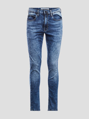 Jeans skinny stretch Creeks denim double stone homme