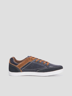 Baskets tennis bleu marine homme