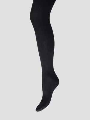 Collant opaque noir fille