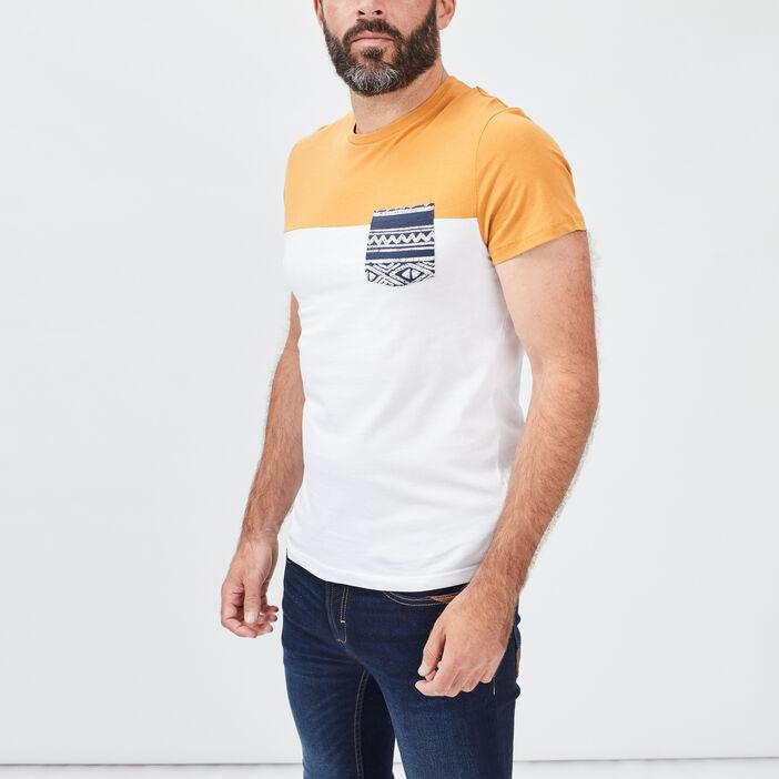 T-shirt manches courtes homme ecru