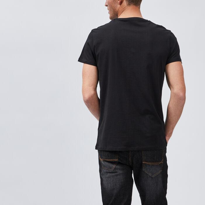 T-shirt Pac-Man homme noir