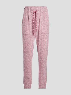 Pantalon de pyjama rose framboise femme