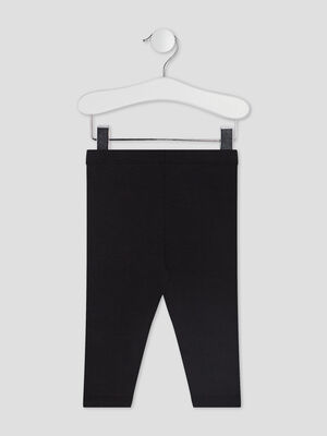 Pantalon legging noir bebef
