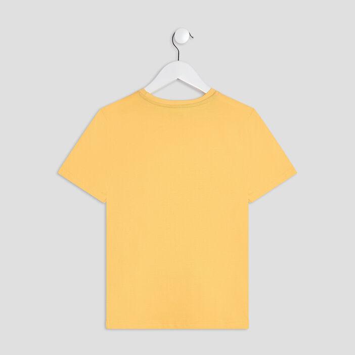 Ensemble pyjama 2 pièces garçon jaune