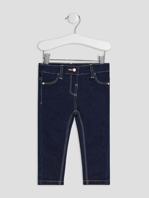 Jeans slim denim brut bebef