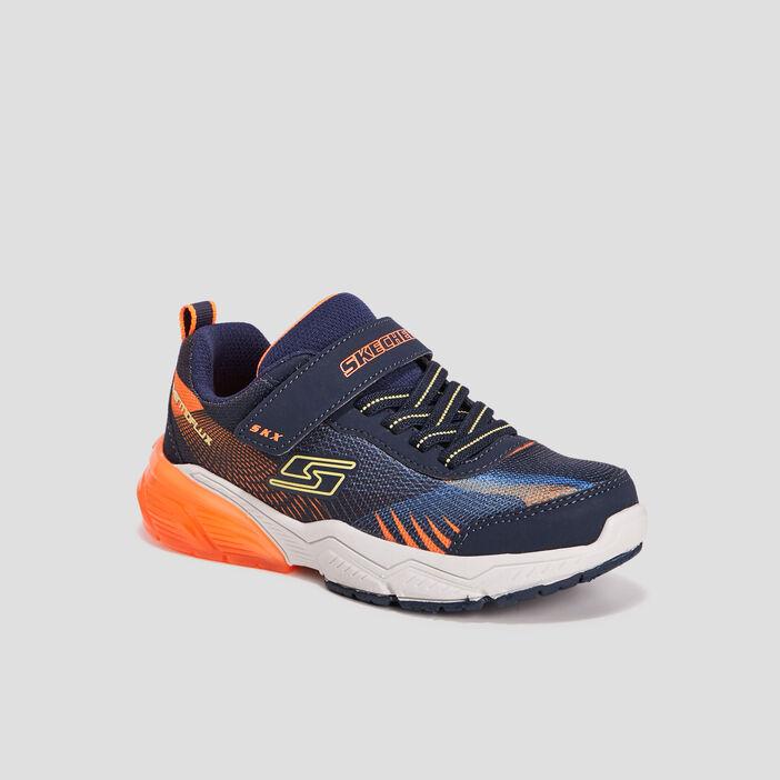 Runnings Skechers garçon bleu