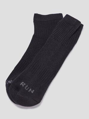 Lot 3 paires socquettes noir femme