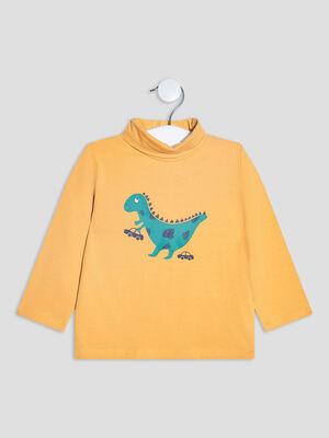 T shirt Pat et Ripaton jaune moutarde bebeg