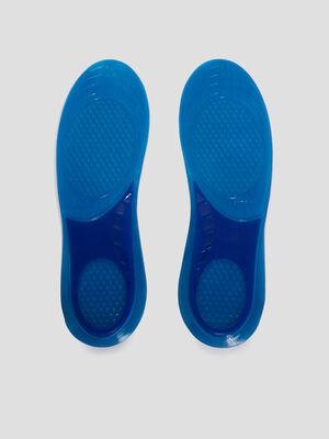 Semelles gel Tawata bleu tous