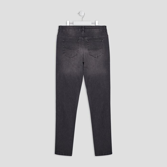 Jeans skinny garçon gris