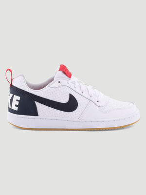 Tennis Nike COURT BOROUGH LOW blanc garcon