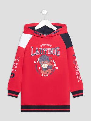 Sweat Miraculous Ladybug rouge fille