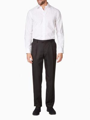 Pantalon de ville noir homm