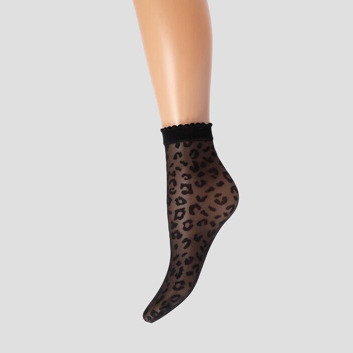 Lot 2 paires socquettes femme noir