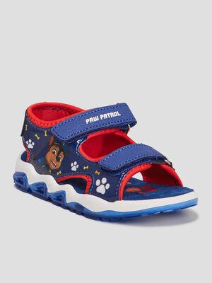 Sandales Paw Patrol bleu garcon