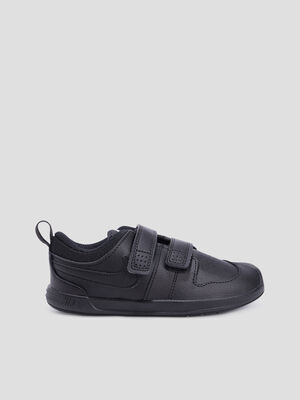 Baskets tennis Nike noir fille