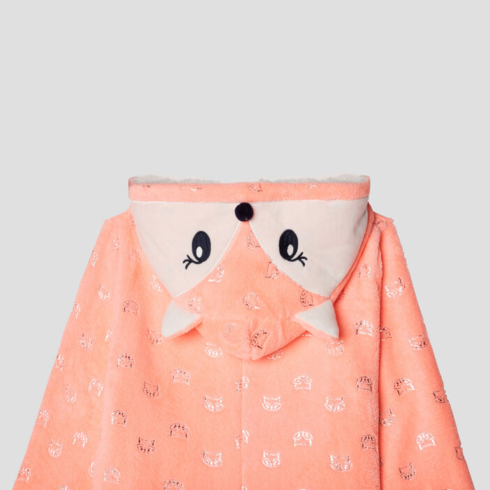 Combinaison pyjama fille rose